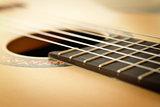 Classic Guitar Closeup