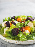 Beetroot, Feta Cheese and Orange Salad.