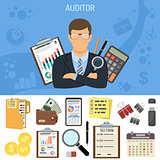 Auditing, Tax process, Accounting Concept