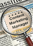 We're Hiring Content Marketing Manager. 3D.