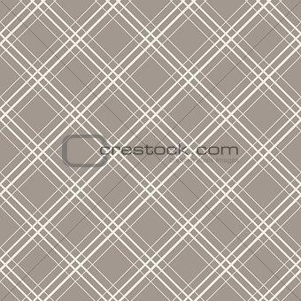 Diagonal checks seamless vector pattern.