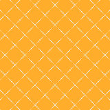 Lattice yellow simple seamless vector pattern.