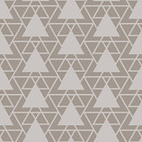 Triangle lattice seamless vector pattern.
