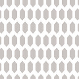 Textured rhombuses grey seamless vector pattern.