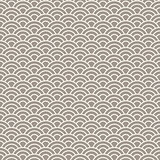 Asian style wave seamless vector pattern.