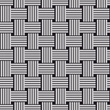 Sennit twist seamless vector pattern.