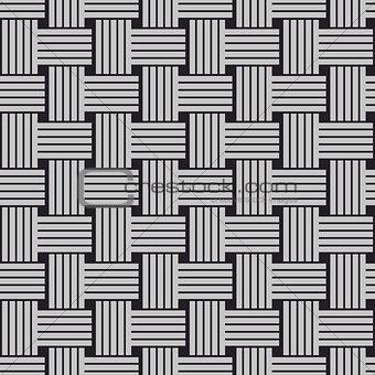 Sennit twist seamless vector pattern.