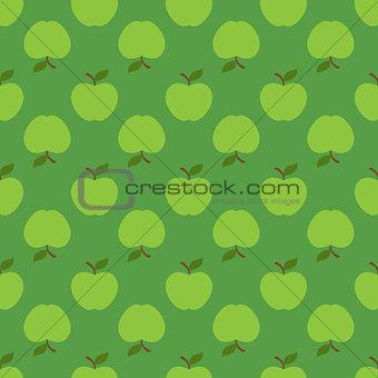 Apple green seamless pattern background