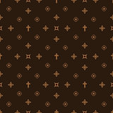 Luxury style fashion seamless pattern.