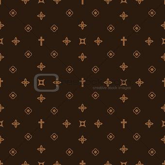 Luxury style fashion seamless pattern.