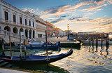 Gondolas near San Marco