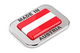 Silver badge Made in Austria