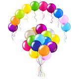 Balloons Colorful Set