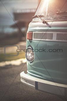 Rare vintage camper van