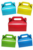 Colourful Cake Boxes