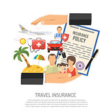Travel Insurance Concept