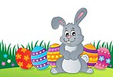 Easter rabbit thematics 1
