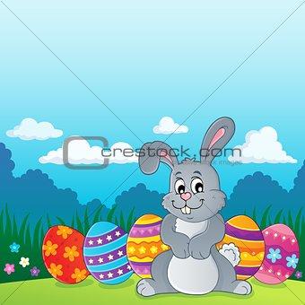 Easter rabbit thematics 2