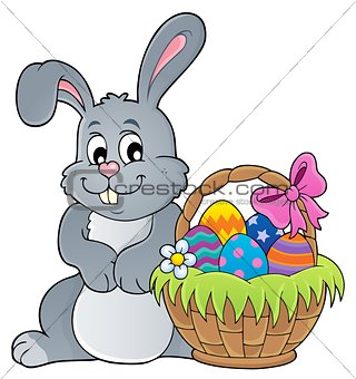 Easter rabbit thematics 3