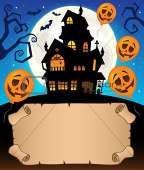 Small parchment and haunted mansion 2