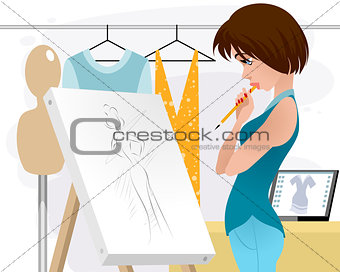 Designer clothing in the workplace