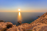 sunrise in Lefkada island, Greece