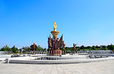 NORTH KOREA, PYONGYANG - SEPTEMBER 27, 2017: Kumsusan Memorial P