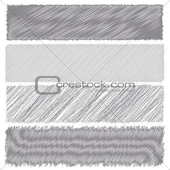 Gray Diagonal Strokes Drawn Background.