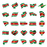 Suriname flag, vector illustration
