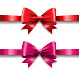 Ribbon Set Isolated