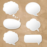 Speech Bubbles Set-