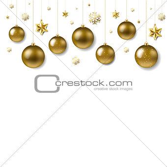 Christmas Ball Border