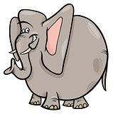 elephant cartoon wild animal character
