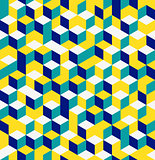 cubes seamless pattern