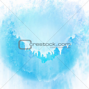 Watercolour painted texture background