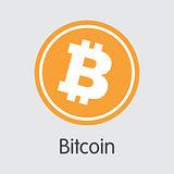 Bitcoin - Cryptocurrency Logo.