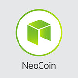 Neo - Vector Icon of Virtual Currency.