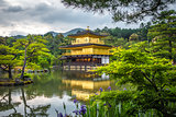 Kinkaku-ji golden temple, Kyoto, Japan