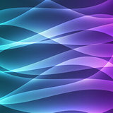 abstract vector glowing background with soft lines