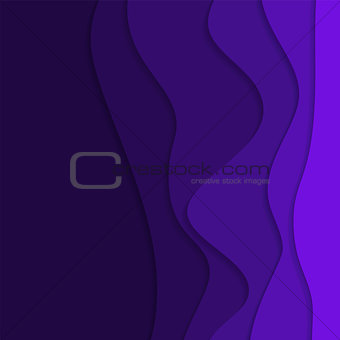 abstract vector background with curves and shadows