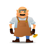 Blacksmith in vector format