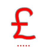 Pound sterling it is icon .