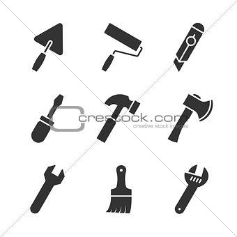 Tools black icons