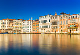 Venice, Italy: Old houses in the traditional Venetian style