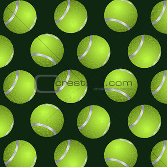 Abstract background of tennis balls