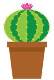 Vector Cartoon Cactus