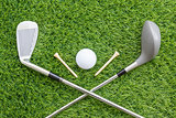 Sport objects related to golf equipment