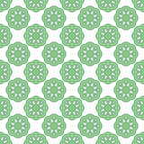 Seamless abstract vintage light green pattern