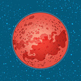 The planet Mars, space exploration, science and astronomy