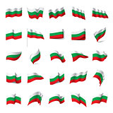 Bulgaria flag, vector illustration